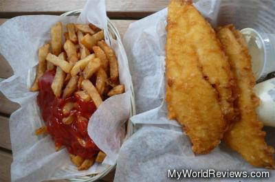 Large Haddock & Large Chips