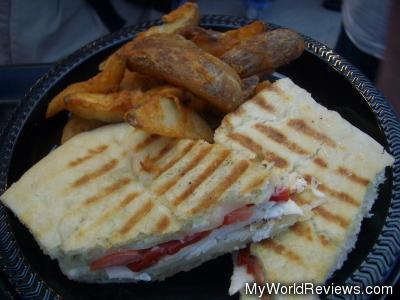 Tuscan Panini Presso with Potato Wedges