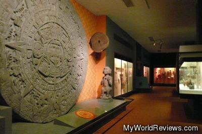 A Mayan Stone Replica
