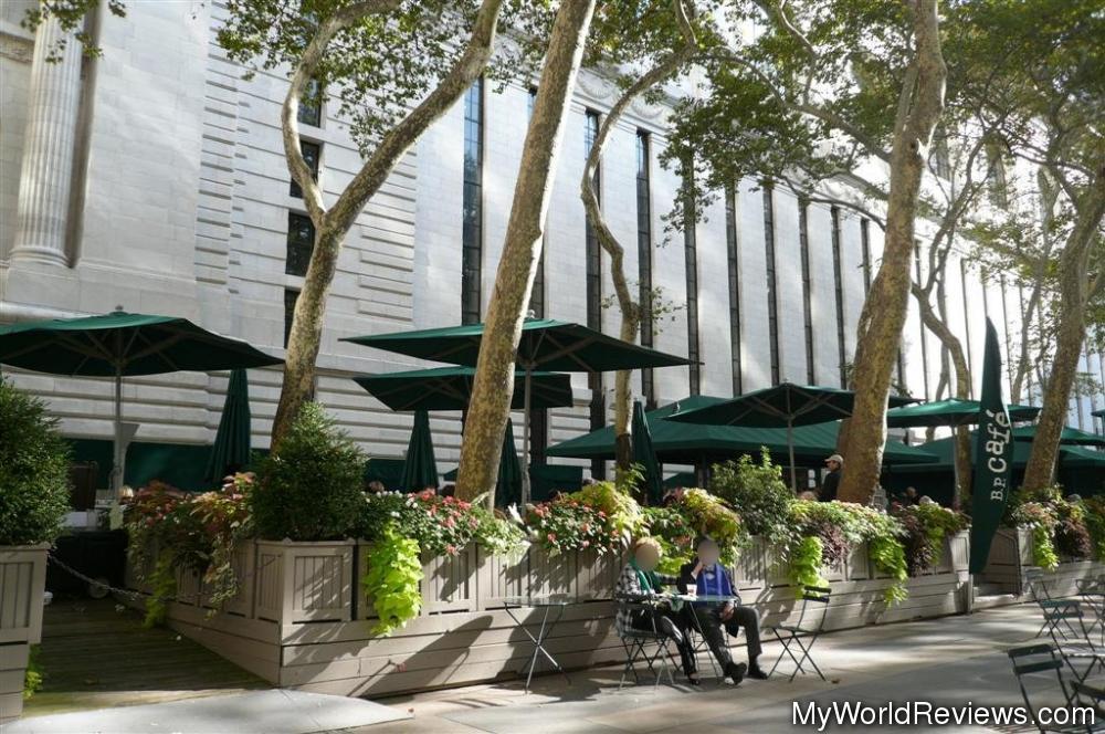 Review of Bryant Park Café at MyWorldReviews.com