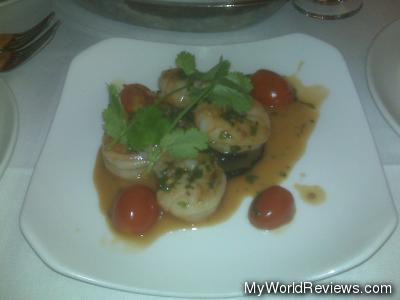 Ginger Shrimp & Portobello Mushroom