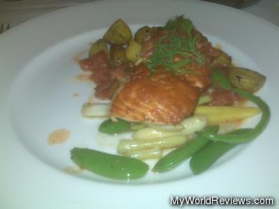 Baked Atlantic Salmon Filet