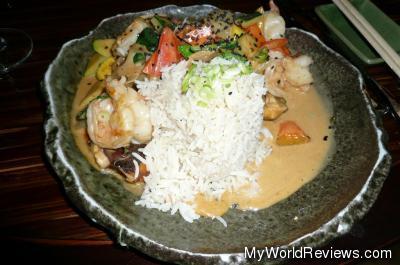 Fire Curry Jumbo Shrimp
