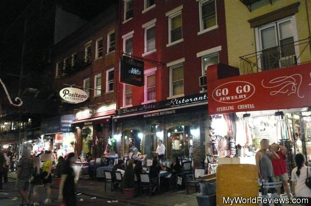 Review Of Buona Notte Restaurante At Myworldreviews Com