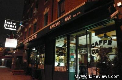 Cafe Dante in Greenwich Village