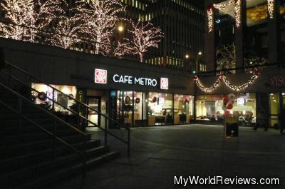 Cafe Metro at the Rockefeller Center