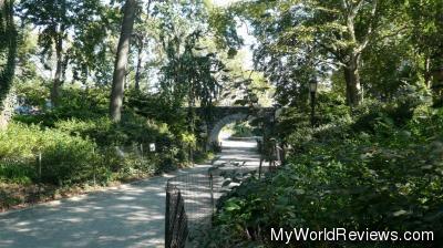 A bridge in Carl Schurz Park