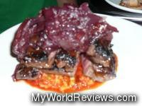 Course 2 - Skirt steak with onion mermelada