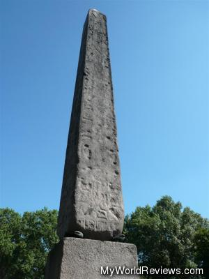 The Obelisk - A point of interest on the tour