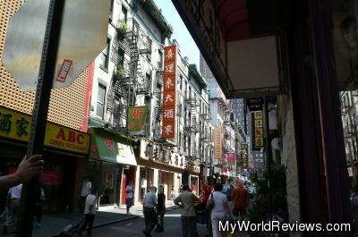 China Town in NYC
