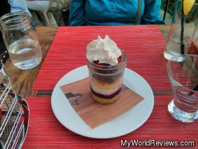 Triple Berry Trifle