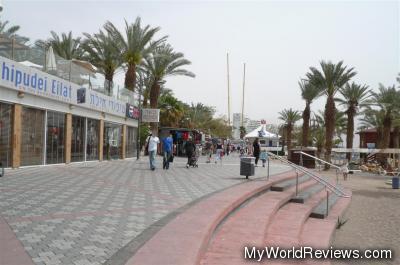The Eilat Promenade