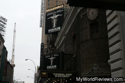 Equus at the Broadhurst Theater