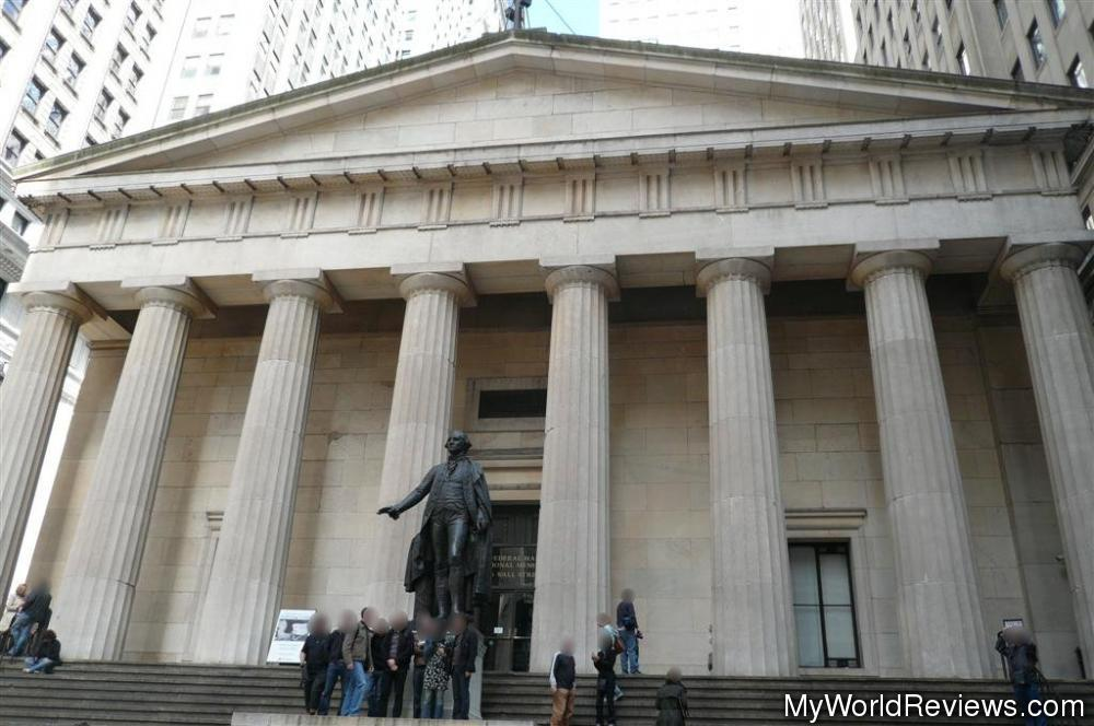 States Visited Map >> Review of Federal Hall National Memorial at MyWorldReviews.com
