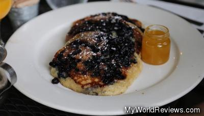 Weston's Blueberry Buttermilk Pancakes