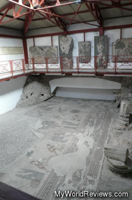 Inside the mosaic museum