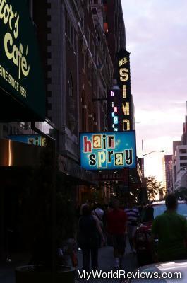 Hairspray at the Neil Simon Theatre