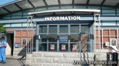 Information building (where tours meet)