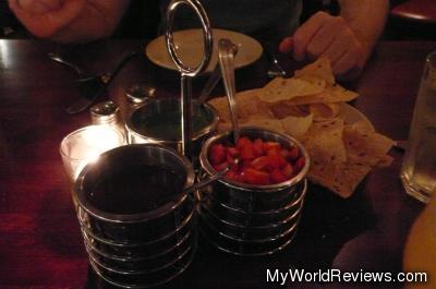 Papadum and Sauces