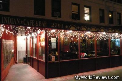 Indian Cafe & Bar on Broadway