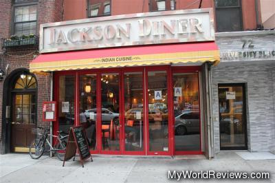 Jackson Diner near Union Square