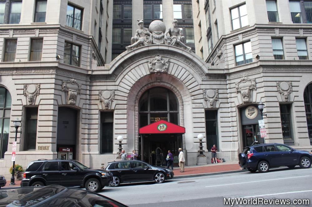 Review of kimpton hotel monaco baltimore at for Hotels monaco