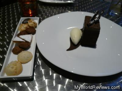 Wicked Chocolate Cake and Assorted Cookies