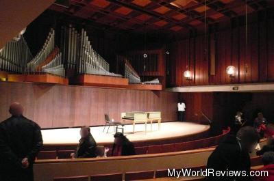 Paul Hall, at Juilliard