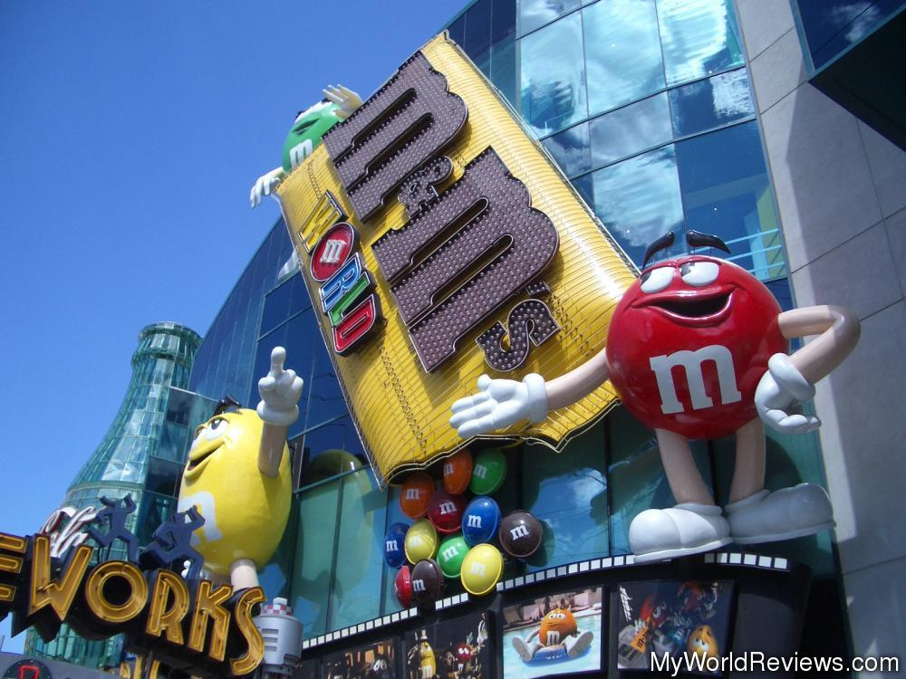 Review of M&M's World at MyWorldReviews.com