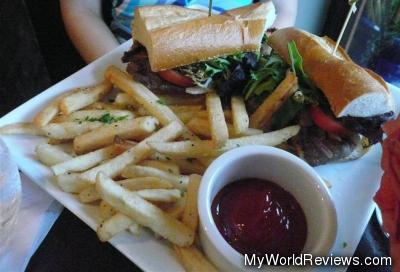 Palomilla Steak Sandwich