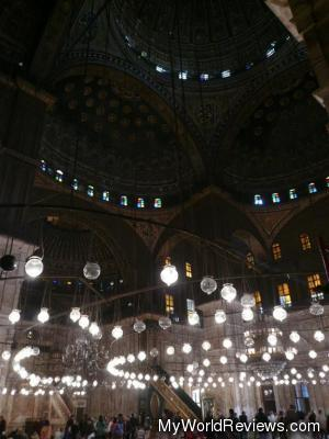 Inside the Alabaster Mosque