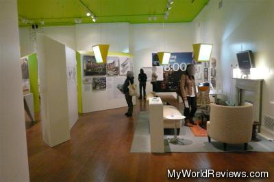 Exhibit on the City's green initiatives