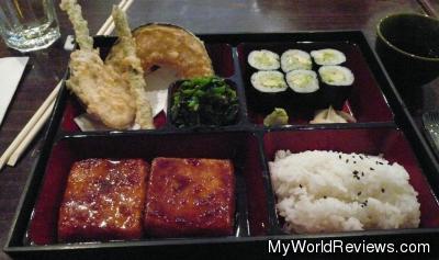 Teriyaki Tofu Bento Box