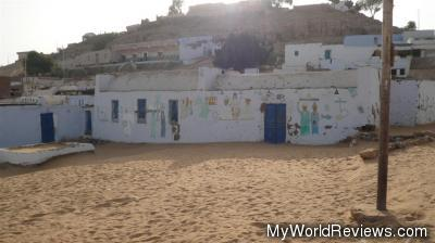 Entrance to the Nubian Village