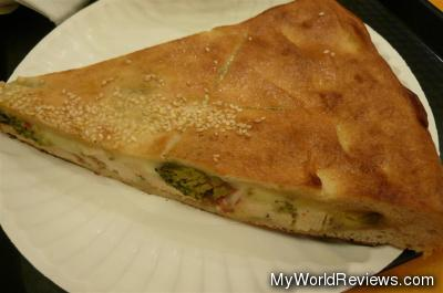 Chicken & Broccoli Stuffed Pizza