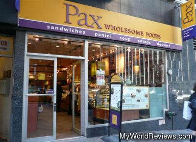 Pax Wholesome Foods on 42nd