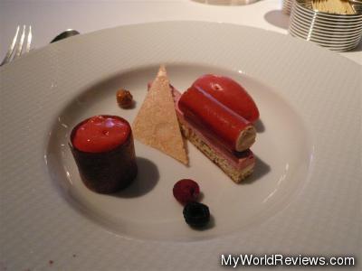 Iced Raspberry Parfait