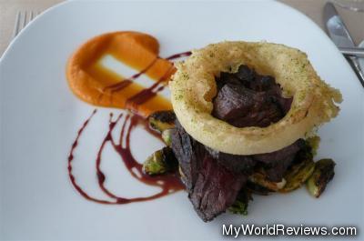 Grilled Beef Hanger Steak