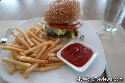 Char-Griled Cheeseburger