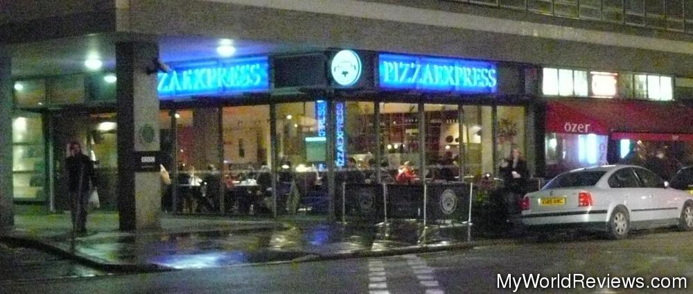 Review Of Pizza Express At Myworldreviewscom