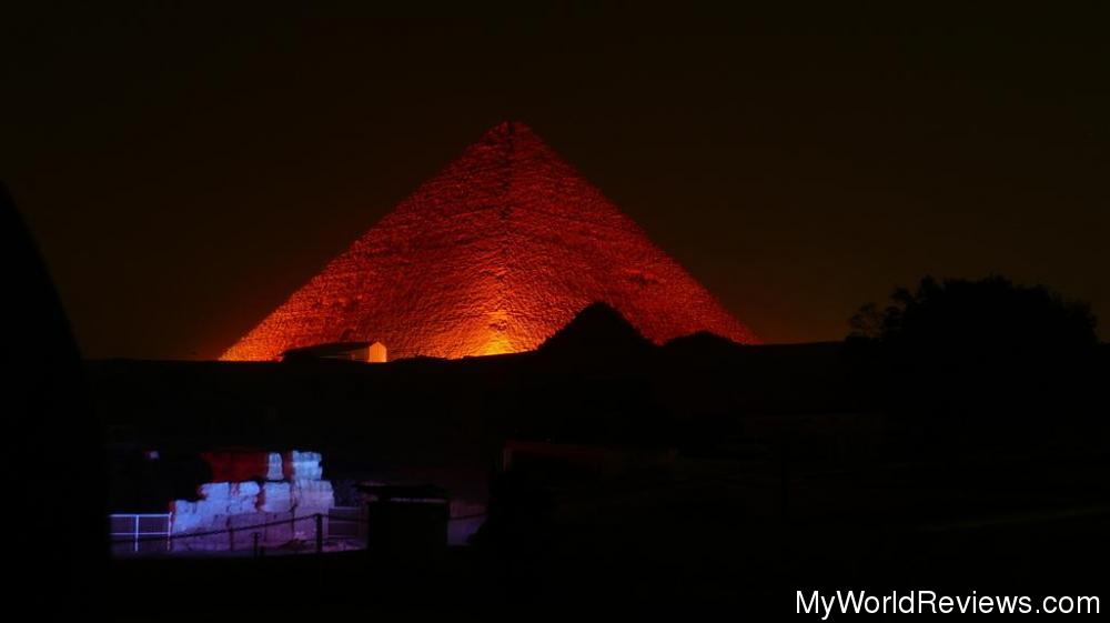 Review Of Pyramid Sound And Light Show At Myworldreviews Com