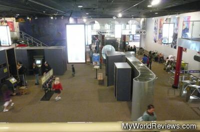 Inside the R.H. Fleet Science Center