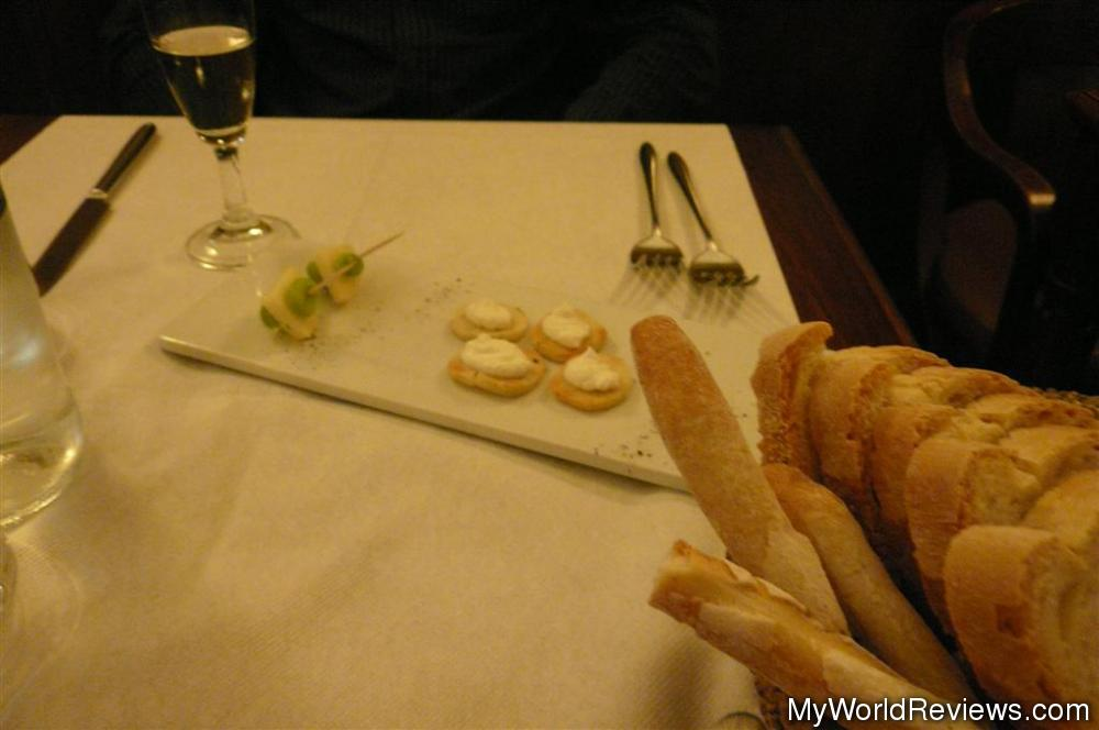 Review of ristorante la decima musa at - Amuse gueule italien ...