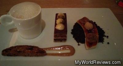 Chocolate-Banana Trio