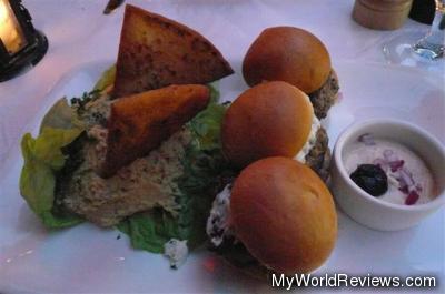 Mediterranean Lamb & Goat Cheese Sliders