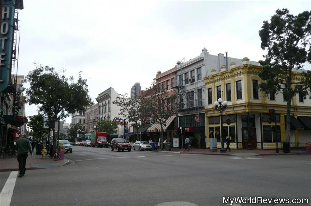 review of san diego gas lamp district at. Black Bedroom Furniture Sets. Home Design Ideas
