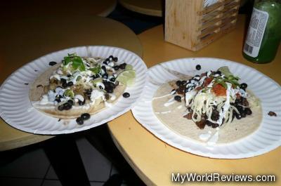 Tacos - Carne Asada and Pollo Verde