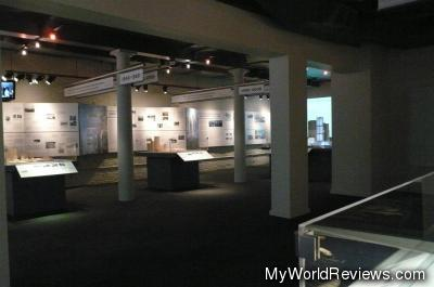 Inside the South Street Seaport Museum
