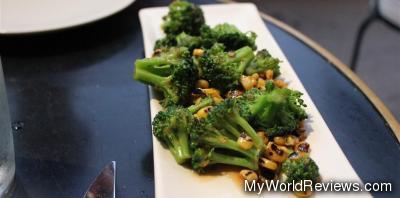 Broccoli and Baby Corn