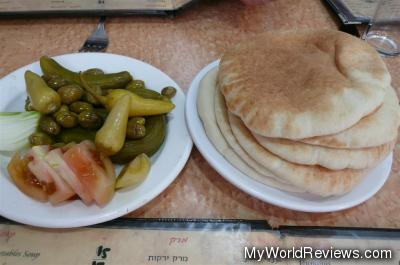 Pickled and pitas